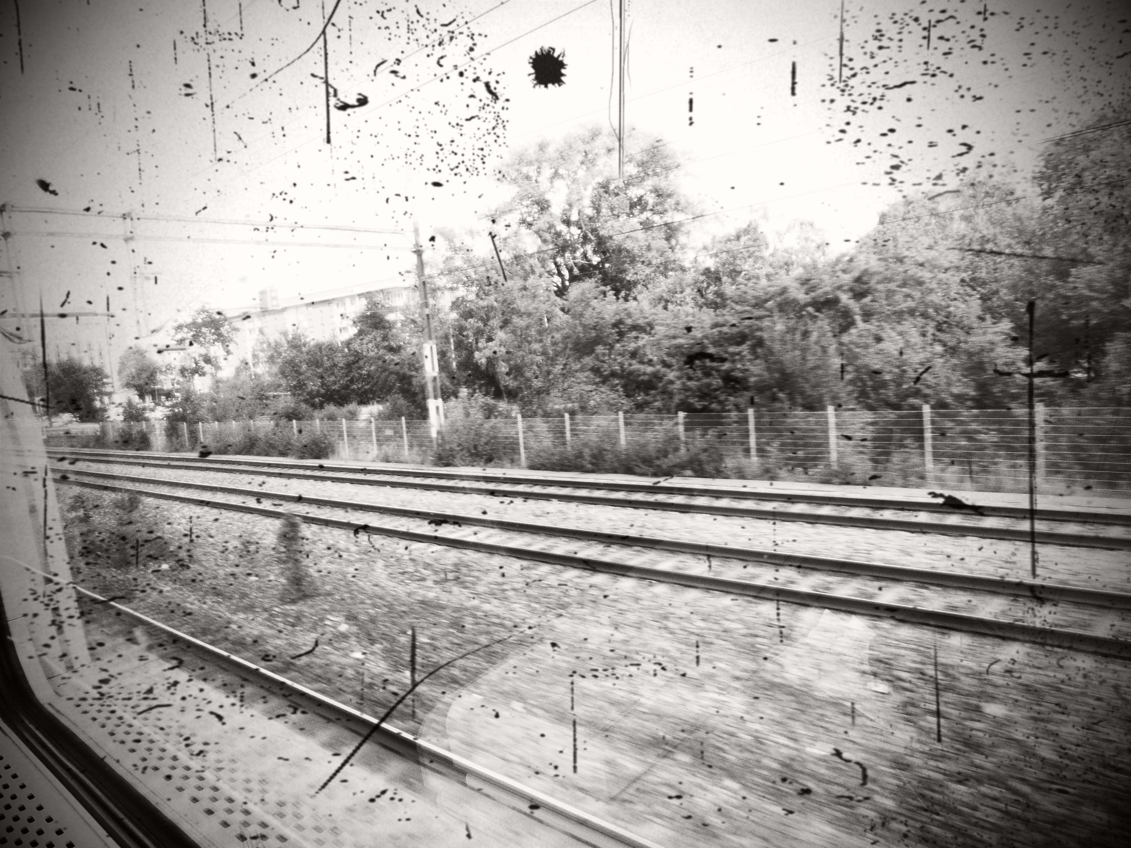 Tåget mot Uppsala…