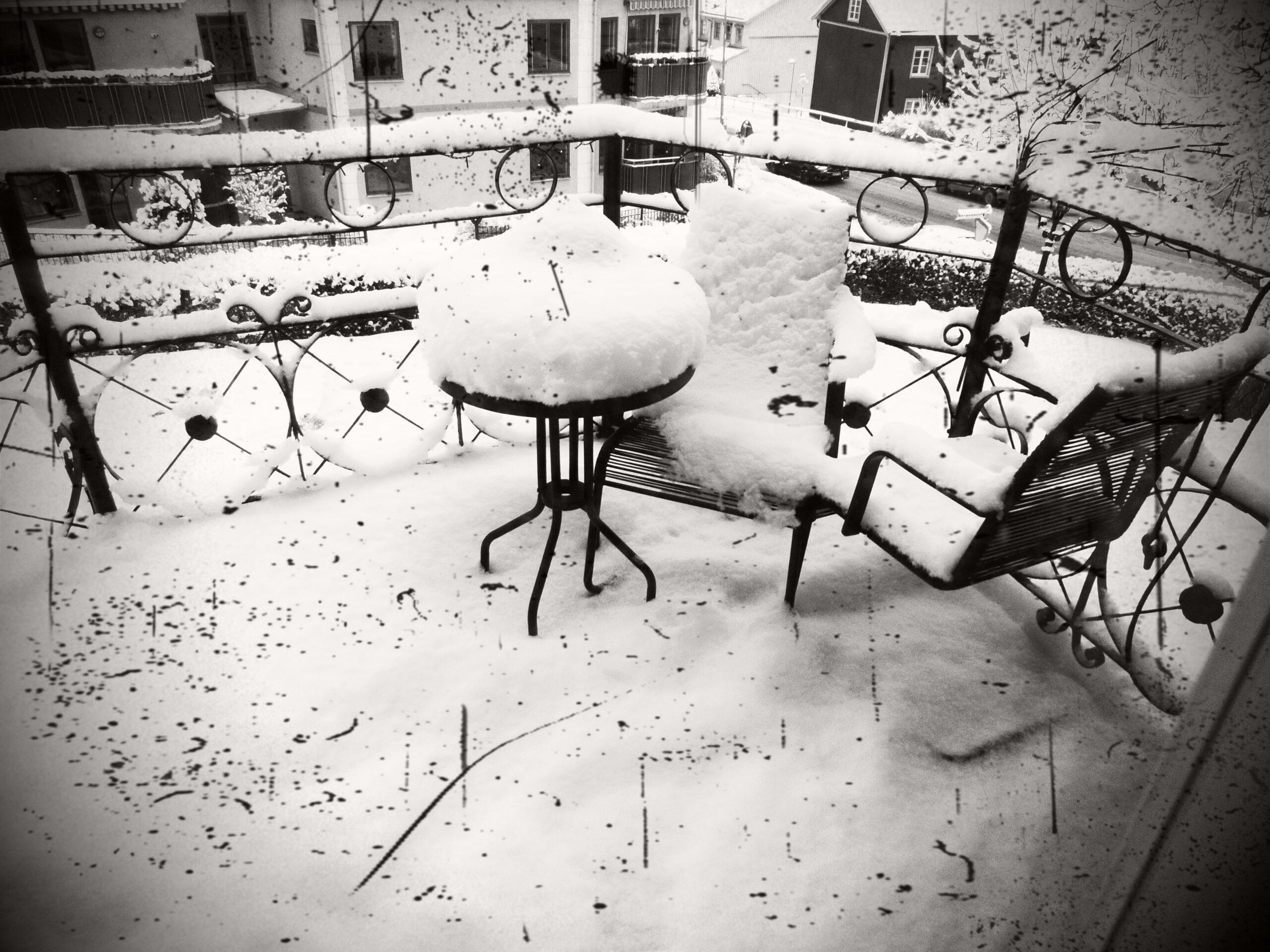 Snön faller…